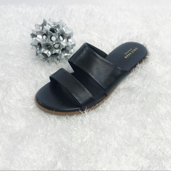 a0473d01e LEFT FOOT Cole Haan Black Anica Sandal Sizes 8.5